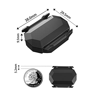 Amazon.com : Vovomay Cycling ANT+ Bluetooth Wireless Speed Cadence Sensor for Garmin Bryton Bike GPS : Sports & Outdoors