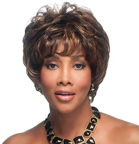 Vivica A. Fox JAI-V Synthetic Fiber, HAND-MADE, PS Cap Wig in Color 2 -