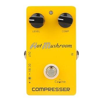 Caline pedales y # xFF0 C; Naranja Overdrive Pre AMP Pedal de efecto de guitarra Snake Bite ...