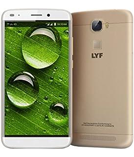 Lyf water 7 4g lte smart phone gold amazon electronics lyf water 9 gold fandeluxe Gallery