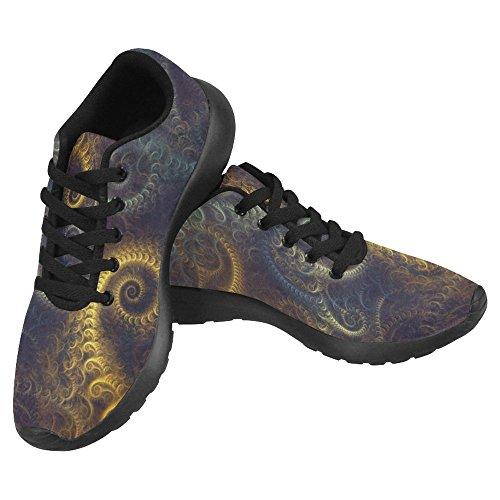 InterestPrint Women's Jogging Running Sneaker Lightweight Go Easy Walking Casual Comfort Running Shoes