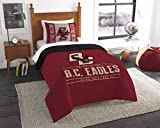 Northwest Officially Licensed NCAA Boston College Golden Eagles Modern Take Twin Comforter and Sham