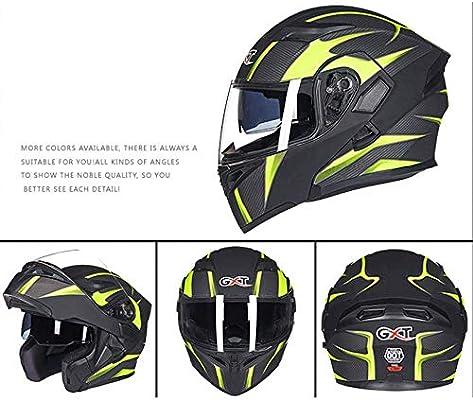 Casco de Motocicleta en General para Todo el Mundo WSFF-Fan Bluetooth Integrado en el Casco de la Motocicleta Modular certificaci/ón ECE22.05 Est/ándar de Seguridad Dot