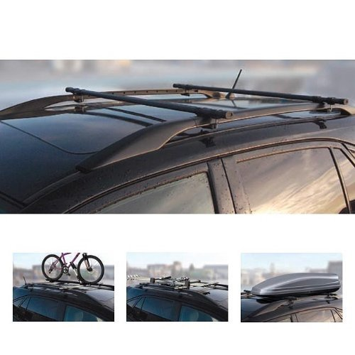 Voiture Barres de toit verrouillables pour Citroën C5Break 04–08 on sale