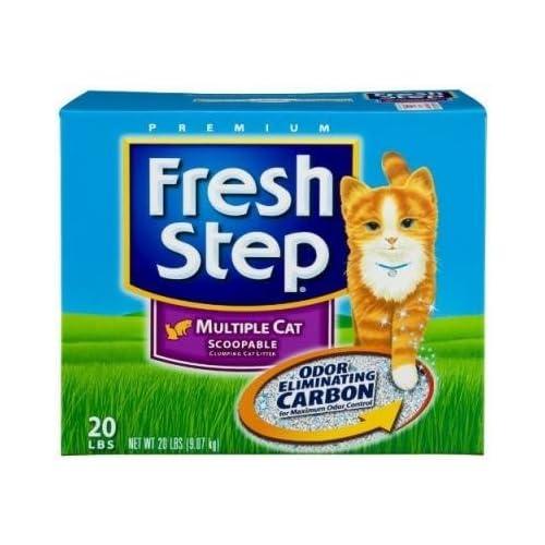 new Fresh Step Multicat Litter