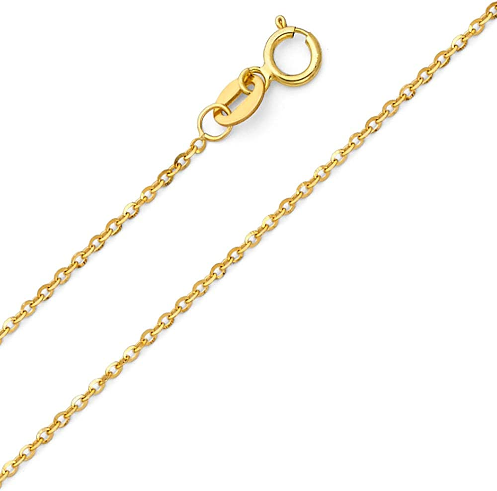 Horn Chain Necklace Q12564