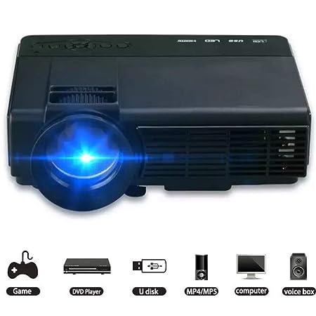 Proyector Proyector para el hogar 1000 lúmenes LED Micro portátil ...