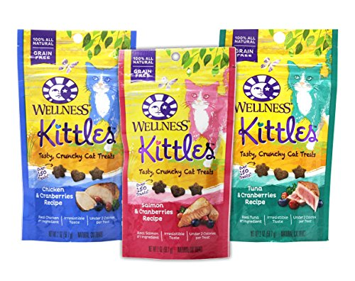 Wellness-Kittles-Cat-Treat-Variety-Pack-3-Flavors-Chicken-Cranberries-Salmon-Cranberries-and-Tuna-Cranberries-Flavors-2-oz-Each-3-Total-Pouches
