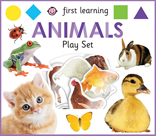 First Learning Animals Play Set (First Learning Play Sets)