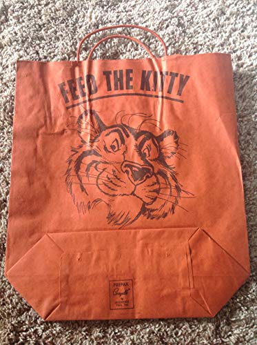 Feed the Kitty Esso Gas & Oil Halloween Bag