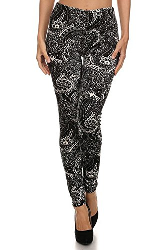 Allover Printing Velour Stretch Legging product image