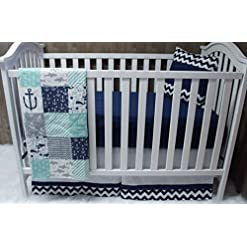51STwdoz3YL._SS247_ Anchor Crib Bedding Sets and Anchor Nursery Bedding