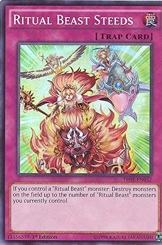 Yu-Gi-Oh! 1st Edition Super Rare by Yu-Gi-Oh! - The Secret Forces THSF-EN032 Ritual Beast Steeds
