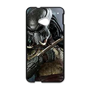HTC One M7 Black Predator phone case cell phone cases&Gift Holiday&Christmas Gifts NVFL7N8823980