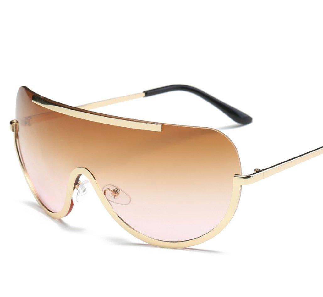 YANJING Nuevas Gafas de Sol Europeas y Americanas con Gafas ...