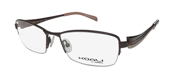 240006f2c10 Koali By Morel 7504k For Las Women Designer Half Rim Stainless Steel Cly  Imported