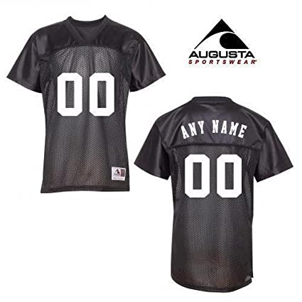 3996625ebfb Customized Black Ladies 2XL V-Neck Football Replica Jerseys (Personalized  Front and Back Custom
