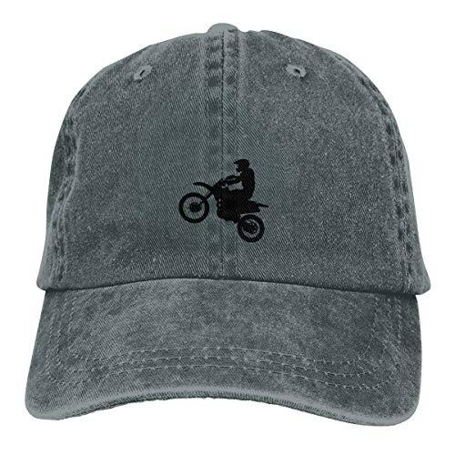 - GHYGTY Vintage Adjustable Baseball Caps Cowgirl Hat for Men/Women, Dirt Bike Clipart Comfortable Sun Hats .Deep Heather
