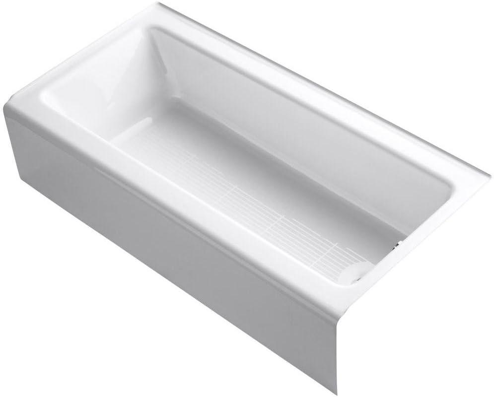 Kohler K-838-0 Bellwether Bathtub, One Size, White