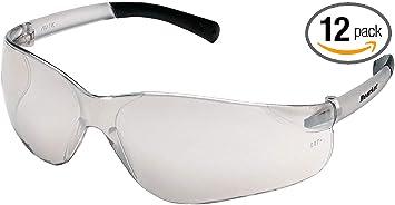 12 Pair Crews BK110AF Bearkat Safety Glasses Clear Frame w//Clear Anti-Fog Lens