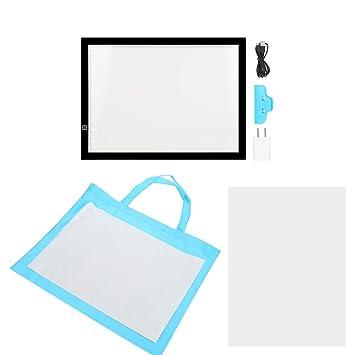 A3 Mesas de Luz Dibujo Caja de Luz Portátil Tableros de Dibujo LED ...
