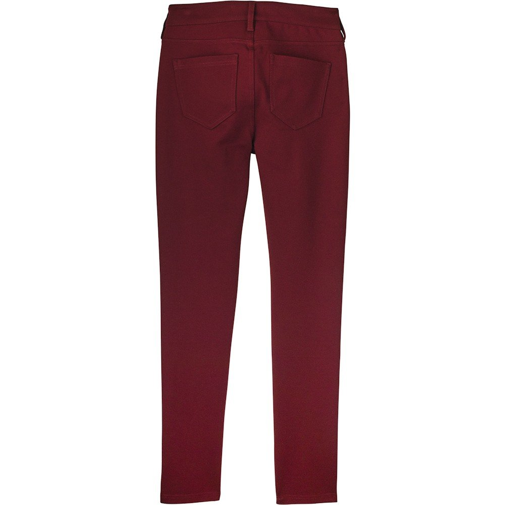3e78fe13c5b61 Liverpool Women's Madonna Five-Pocket Leggings In Silky Soft Ponte Knit In  Wine Wine 0 at Amazon Women's Clothing store: