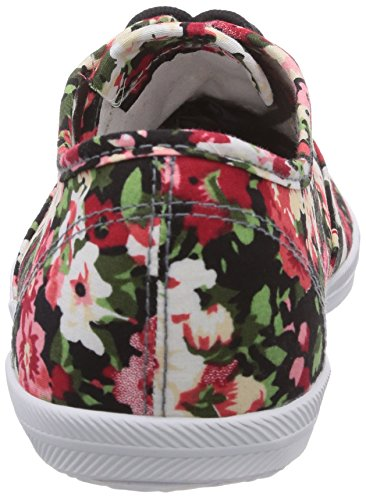 Tamaris 23609 Damen Sneakers Mehrfarbig (Flower/Black 910)