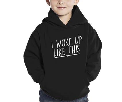 Amazon Com Haase Unlimited I Woke Up Like This Hoodie Sweatshirt