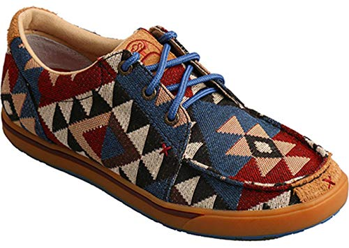 - Twisted X Boots Mens Hooey Aztec Canvas Casual Shoes 11 D(M) US Multi