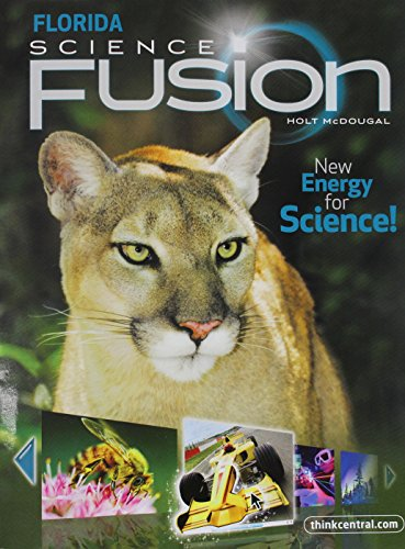 Holt McDougal Science Fusion Florida: Student Edition Interactive Worktext Grade 7 2012
