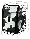 Zuca SIBMU243 Sport Insert Bag Muca Black White Cow Print W Pink Lining 89055900243