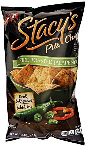 Stacy's Fire Roasted Jalapeno Pita Chips, 7.33 oz