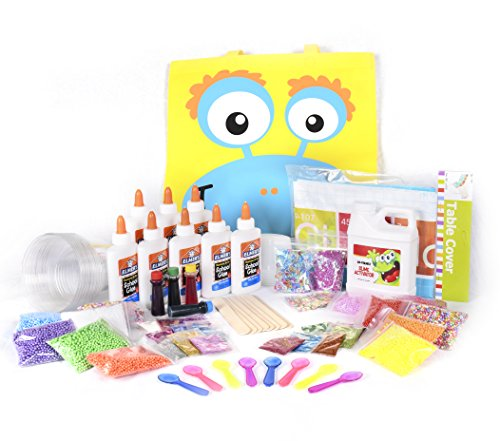 Mr emc2 slime kit party supplies for 8 kids all inclusive diy kits alien do it yourself recipes ready made product solutioingenieria Images