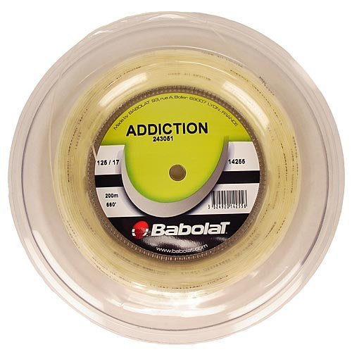 Babolat Addiction 17G Reel Tennis String by Babolat
