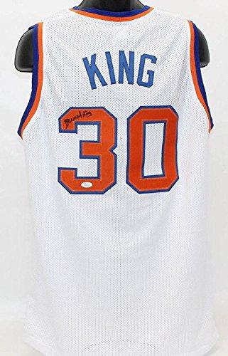 Bernard-King-Autographed-New-York-Knicks-Jersey-COA-JSA-Certified-Autographed-NBA-Jerseys