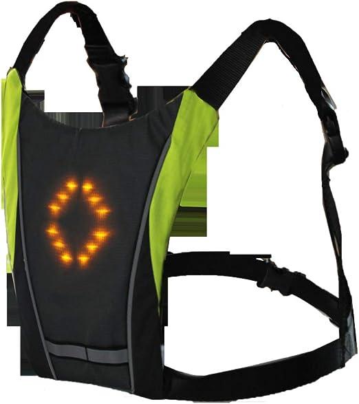 Mallalah Chaleco de Ciclismo RC LED Intermitente Reflectante ...