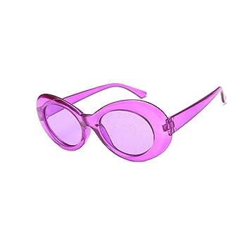 YSFU Gafas de sol Gafas De Sol Mujer Gafas Ovaladas Lentes ...