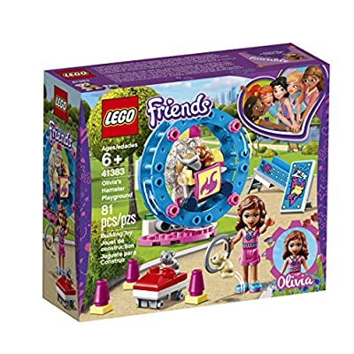 LEGO Friends Olivia's Hamster Playground 41383 Building Kit (81 Pieces): Toys & Games