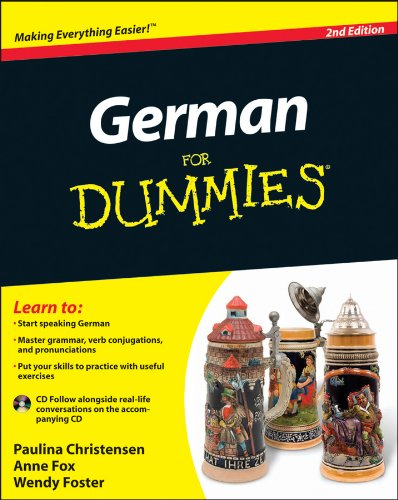 German For Dummies, (with CD) ()