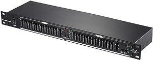 ammoon EQ-215 Dual Channel 15-Band Equalizer 1U Rack Mount