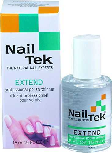 Nailtek Extend Professional Polish Thinner, 0.5 Fluid Ounce
