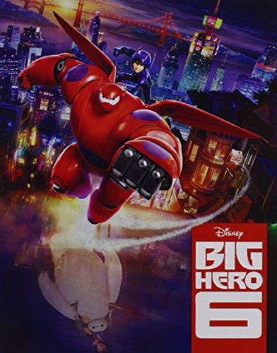Big Hero 6 [Blu-ray] (Steelbook 6 Hero Big)