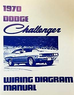 1970 dodge challenger factory electrical wiring diagrams Dodge Dakota Schematics