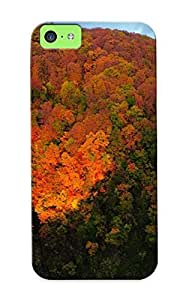 meilinF000Brendapritchard Brand New Defender Case For iphone 5/5s (sun Shining On The Autumn Forest ) / Christmas's GiftmeilinF000