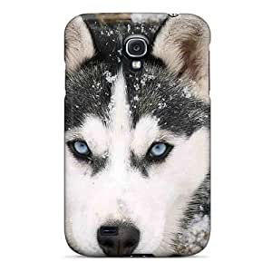 Sanp On Case Cover Protector For Galaxy S4 (siberian Husky)