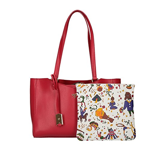 Piero Guidi Tote shopping Bag red
