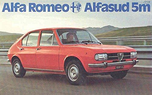 Amazoncom Alfa Romeo Alfasud TI Sales Brochure Italian - Alfa romeo alfasud for sale