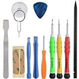 Vastar 13 PCS Cell Phone Repair Tool Kit for iPhone 6 Plus/ 6S/ 6/ 5S/ 5C/ 5/ 4S/ 4/ iPad 4/3/2, iPhone 7/7 Plus,8/8 Plus,Mini, iPods and More (Phone Repair Kit Not Fit for Some iPhone Metal Plates Inside)