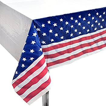 Amazon.com: Set of 3 USA Stars & Stripes Plastic