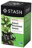 kof 99 - Stash Tea Decaf Premium Green Tea, 18 Count Tea Bags in Foil (Pack of 6)